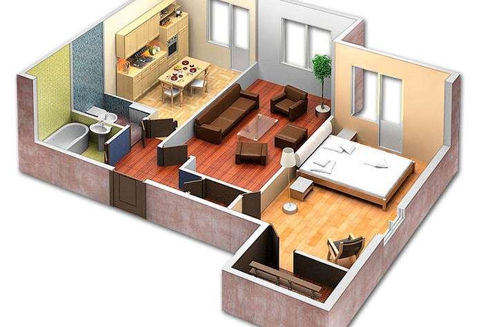 Замена проводки в двухкомнатной квартире! Антикризисная цена.